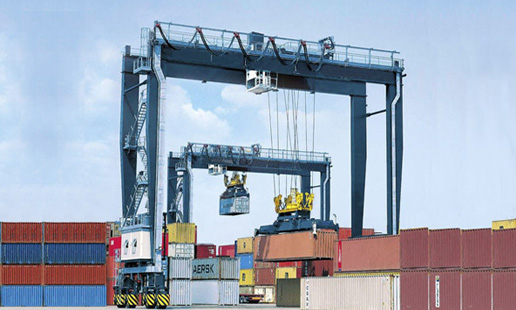 Container Stacking Gantry Crane