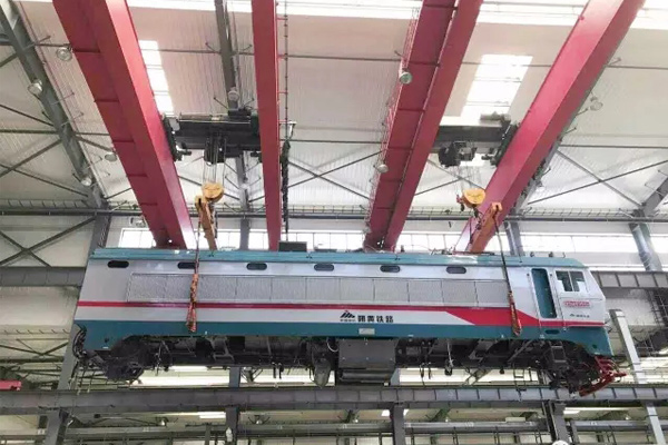 Weihua Overhead Cranes for Maintenance of Rail Transit Vehicles