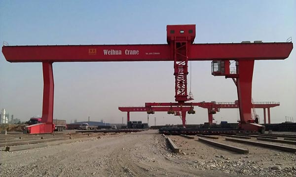 A Set Of Gantry Crane With L-Shaped Legs Delivery To Uzbekistan.jpg