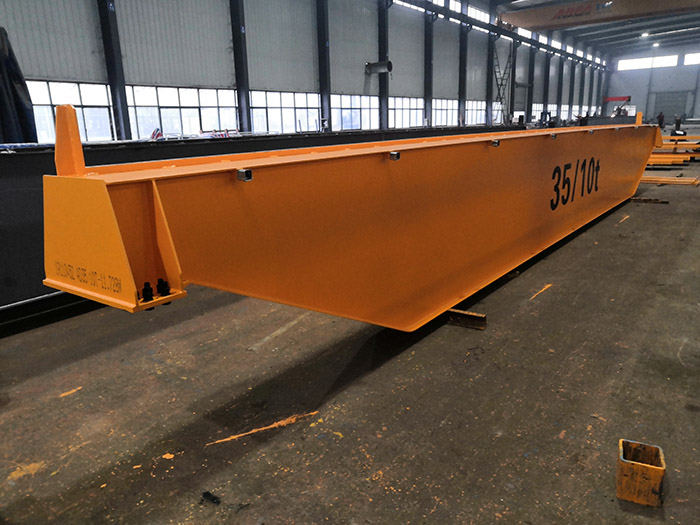 European-style Single Girder Bridge Crane