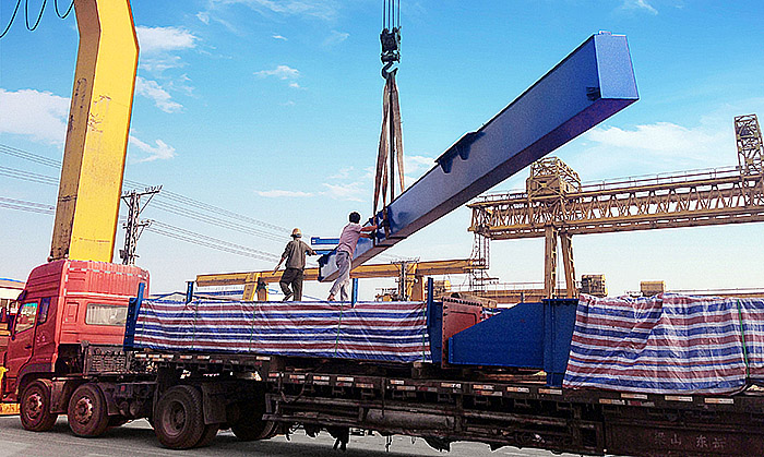 36T container gantry crane delivery to Russia