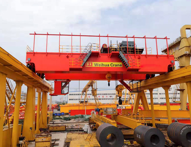 Weihua crane 160t Overhead Crane Test for Ukraine