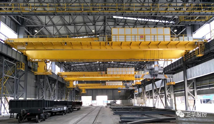 Weihua Crane provides 14 high-profile cranes for Ukrainian ArcelorMittal Steel Group