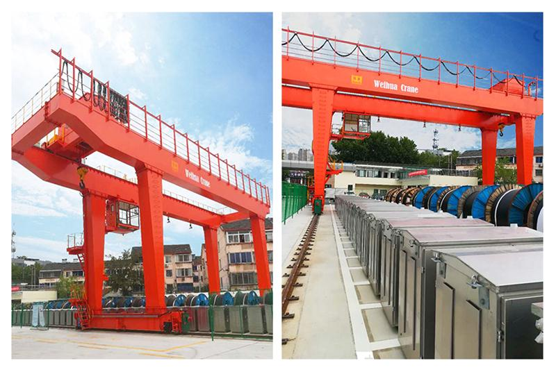 Weihua Group Warehouse Intelligent Bridge Crane