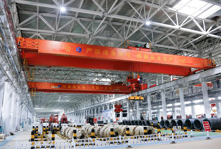 Weihua Group's intelligent electromagnetic crane