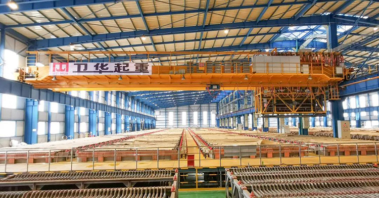 Weihua Electrolytic Copper Multifunctional Special Overhead Crane