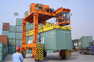Container Transporter Gantry Crane