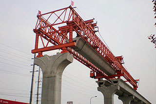 Bridge Girder Erection Machine